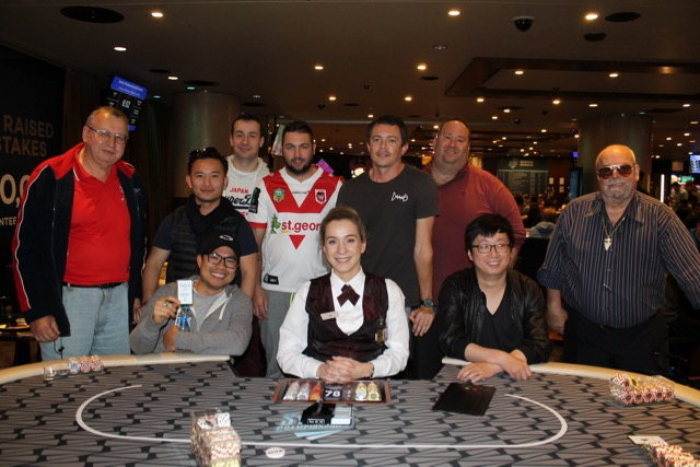 Sydney Championships 2016 PLO final table